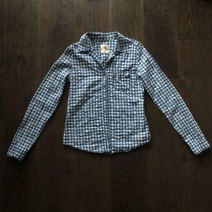 3/$30🌻Hollister Plaid Button Up Shirt